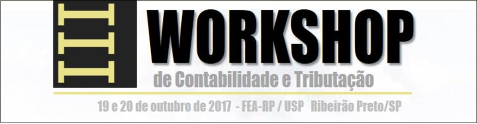 Banner III Workshop de Tributacao